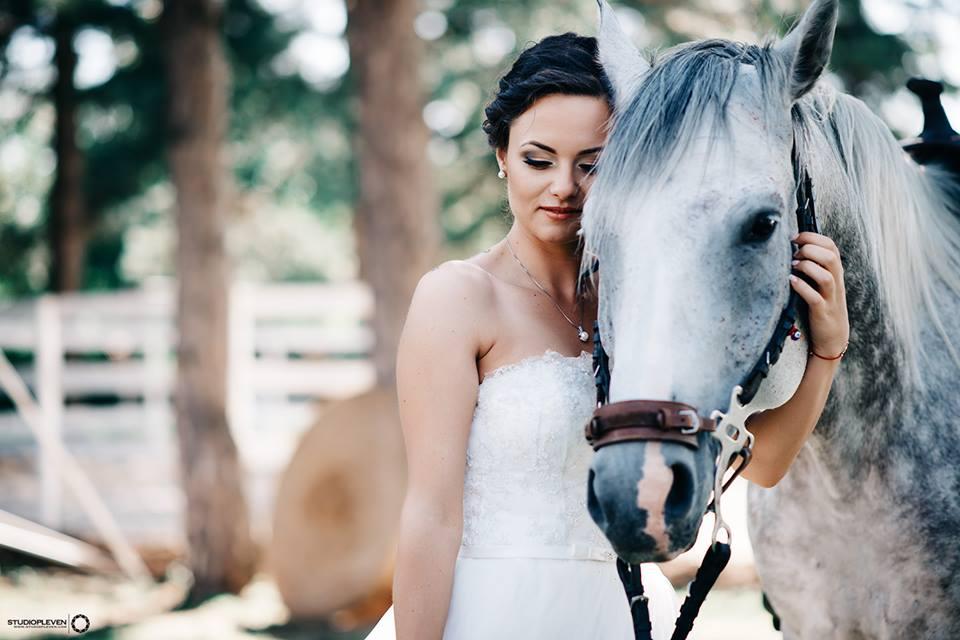 Сватбена фотография крушуна