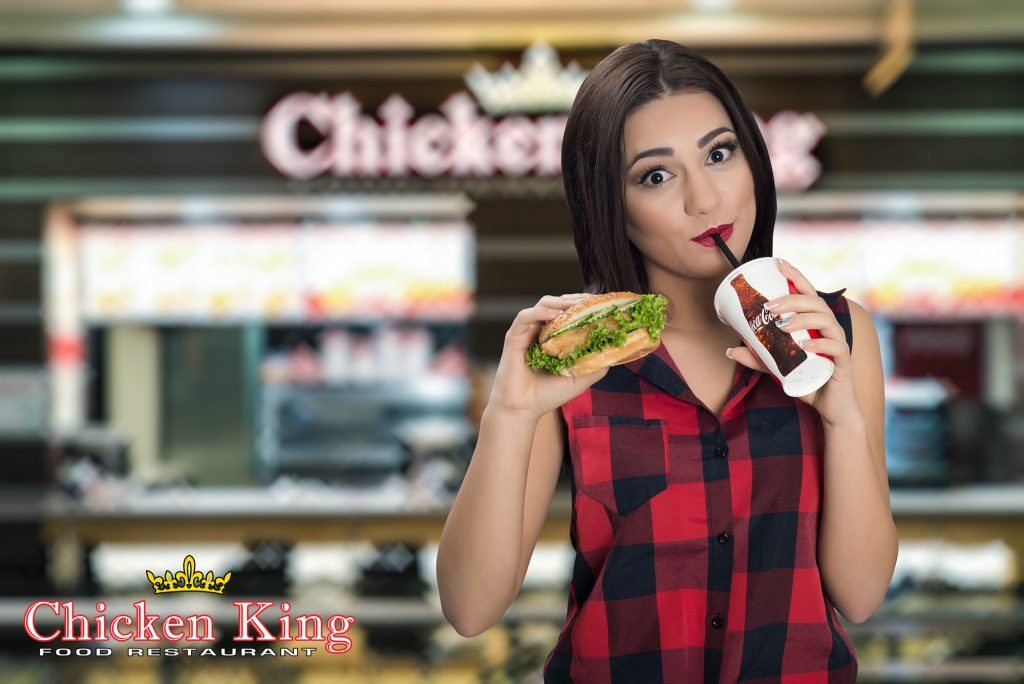 chicken king рекламно видео и фотография