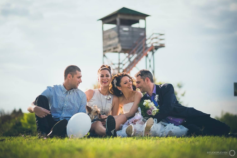 сватбена фотография белене