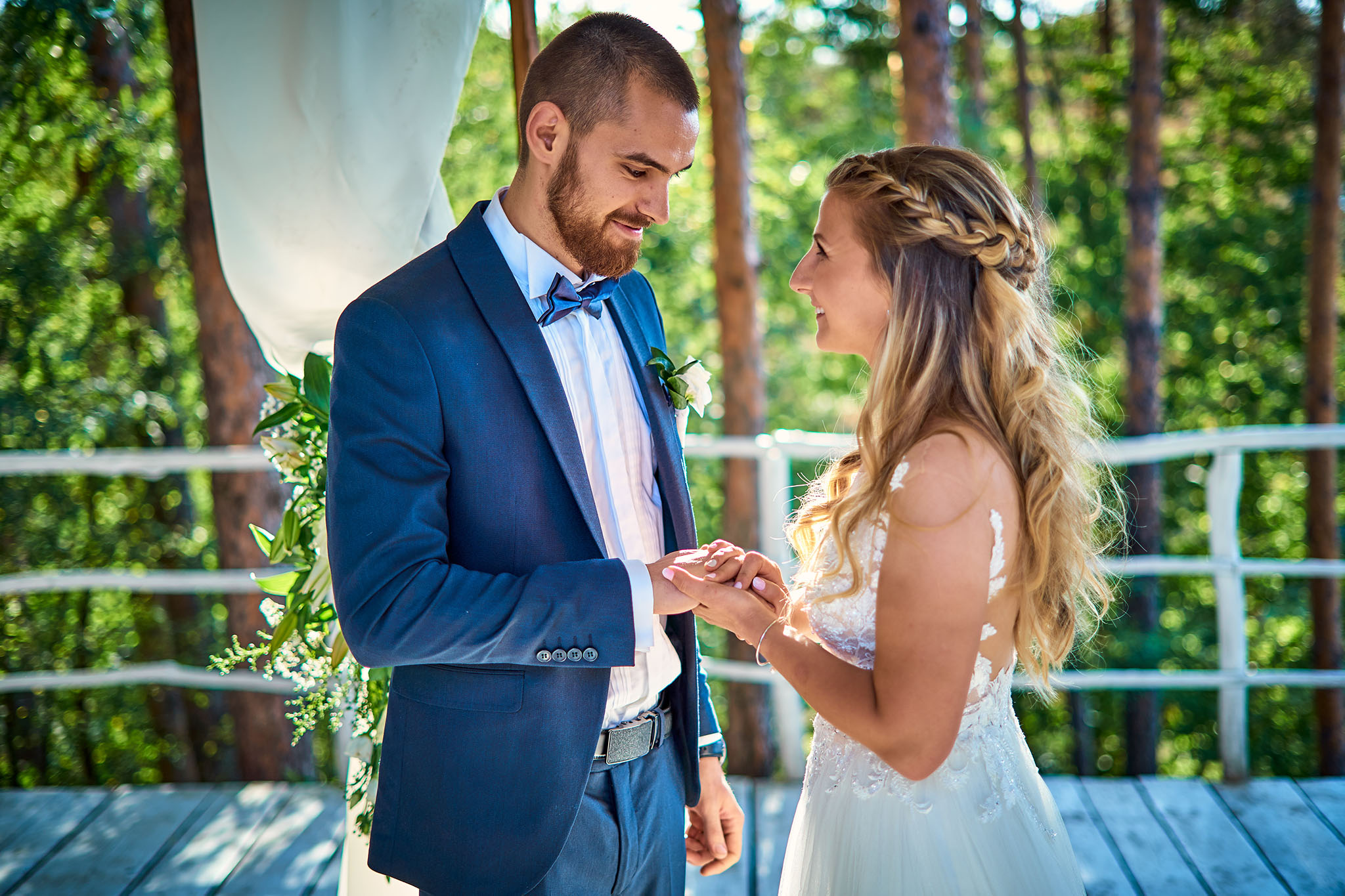 сватба в компекс Райски залив